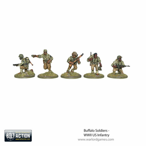 Warlord Games Bolt Action - Buffalo Soldiers
