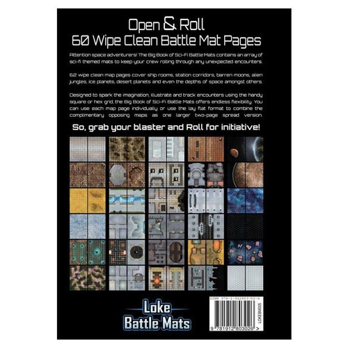 Catalyst Game Labs Big Book of Sci-Fi Battle Mats