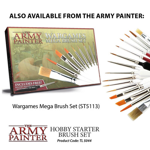 The Army Painter The Army Painter Brush Set - Wargamers Mega Brush Set