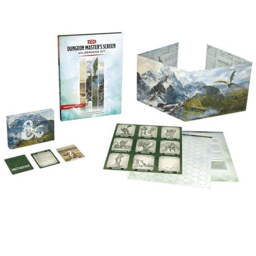 Wizards of the Coast DandD DM Screen - Wilderness Kit