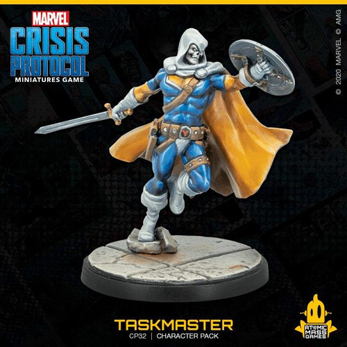 Atomic Mass Games Marvel Crisis Protocol - Punisher and Taskmaster