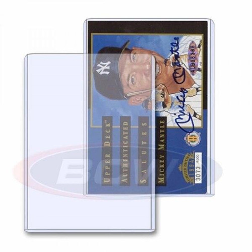 BCW BCW Topload Card Sleeve 25-pack 3.5 x 5