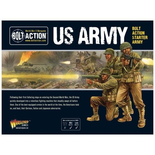 Warlord Games Bolt Action - US Army Starter Set