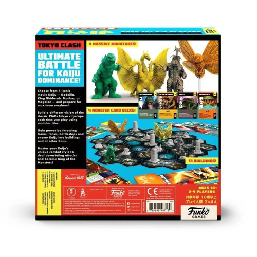 Funko Godzilla - Super Kaiju Strategy Game