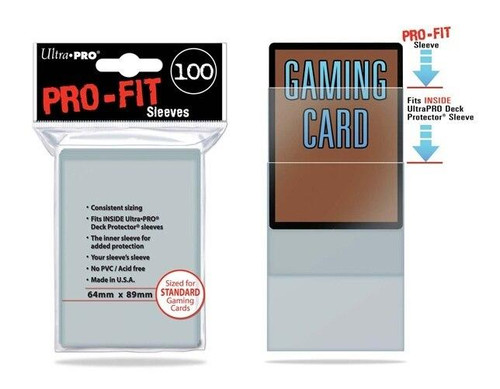 Ultra Pro Sleeves Ultra Pro - Pro-Fit - Standard Clear 100ct