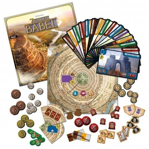 Asmodee 7 Wonders Expansion - Babel