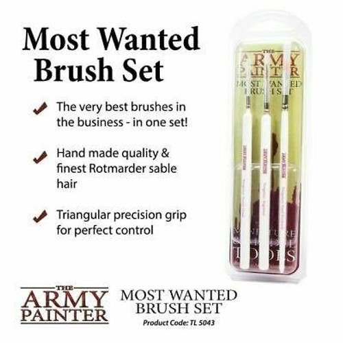 The Army Painter The Army Painter Brush Set - Most Wanted Brush Set