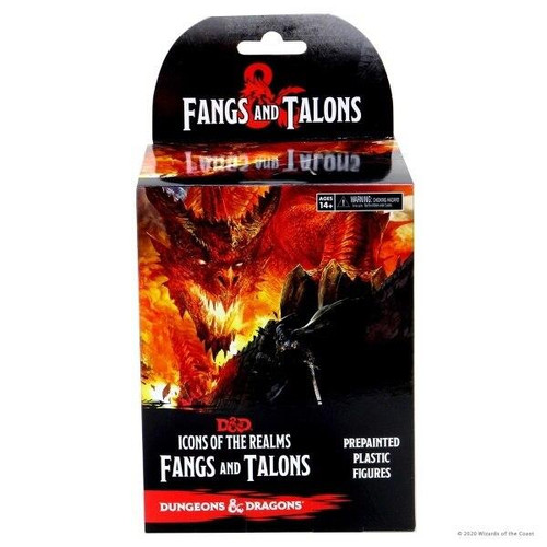 Wizkids DandD Icons of the Realms Booster - 17 Fangs and Talons