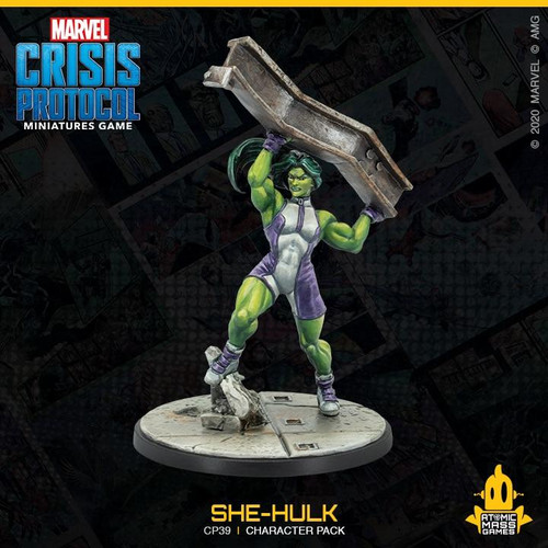 Atomic Mass Games Marvel Crisis Protocol - She-Hulk
