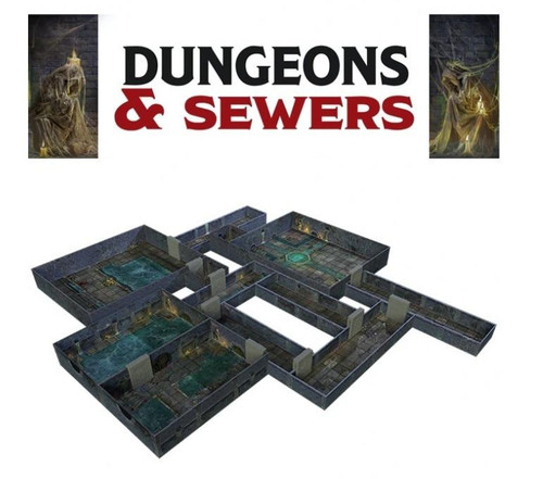 Room 17 Tenfold Dungeon - Dungeon and Sewers