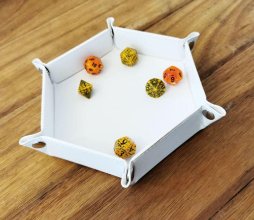 Lets Play Games LPG - Game Essentials 6 Hex Dice Tray Range
