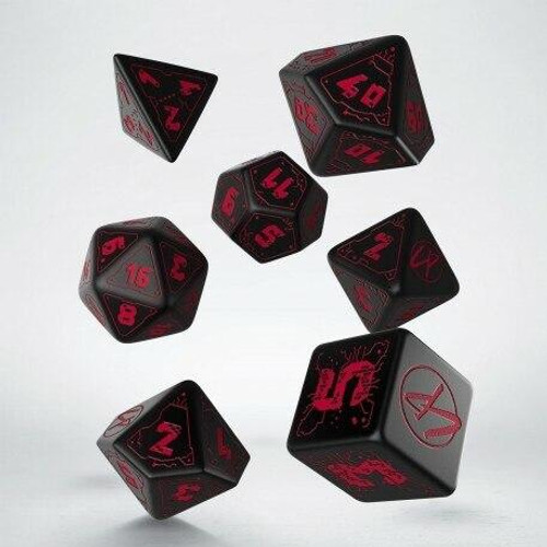 Q Workshop Q Workshop - Cyberpunk RPG Dice Set