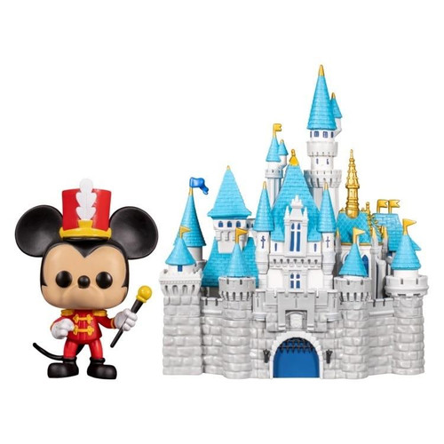 Funko Pop Town - Disneyland 65th Anniversary Mickey with Castle