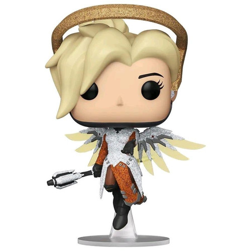 Funko Pop Games - Overwatch Mercy Diamond Glitter