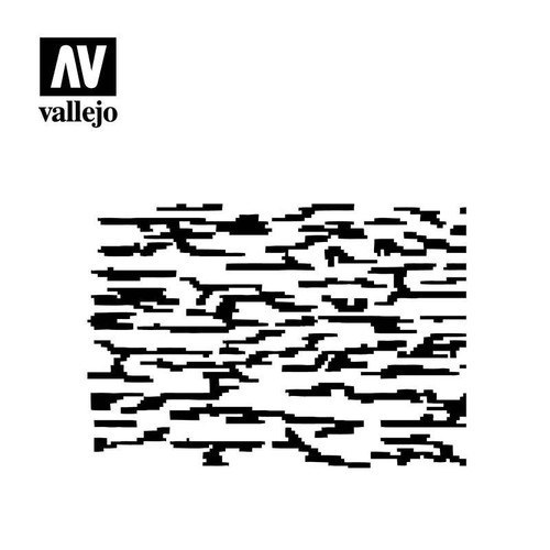 Vallejo Vallejo Stencils - Camouflages Pixelated Modern Camo
