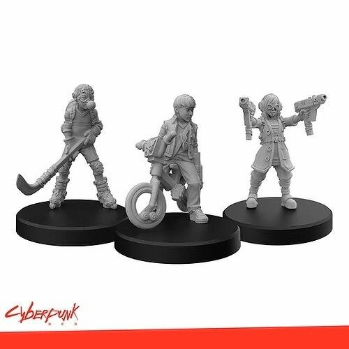Monster Fight Club Cyberpunk Red RPG - Minis Generation Red A
