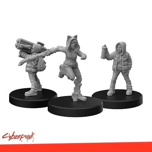Monster Fight Club Cyberpunk Red RPG - Minis Generation Red B