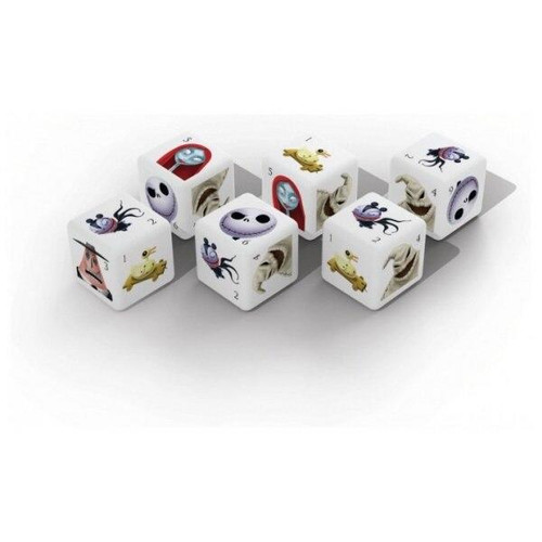 The Op Tim Burtons The Nightmare Before Christmas D6 Dice Set