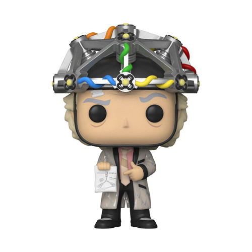 Funko Pop - Back to the Future Doc with Helmet