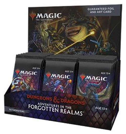 Wizards of the Coast Magic Set Box - Adventures in the Forgotten Realms