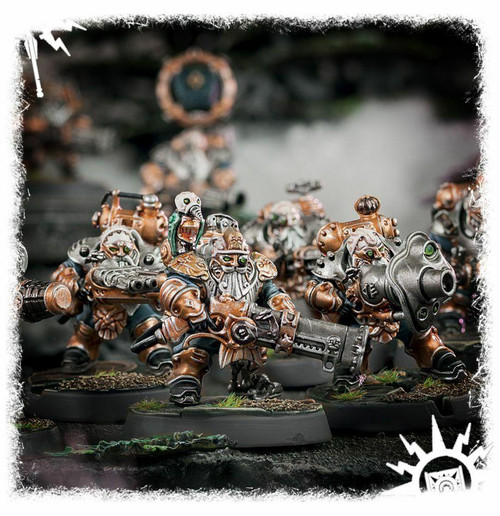 Games Workshop AOS Kharadron Overlords - Grundstok Thunderers