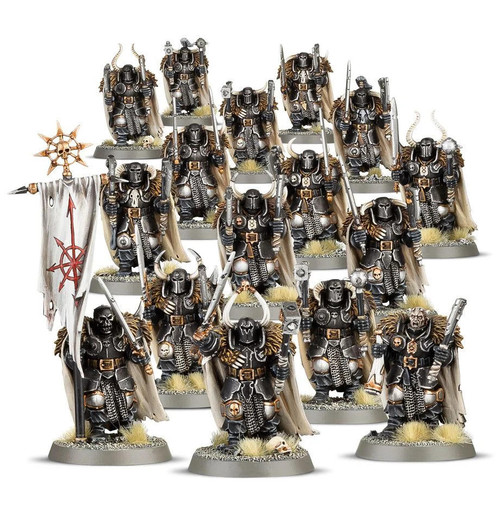 Games Workshop AOS Slaves to Darkness - Chaos Warriors Regiment