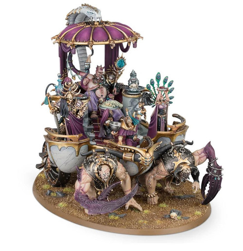 Games Workshop AOS Hedonites of Slaanesh - Glutos Orscollion, Lord of Gluttony