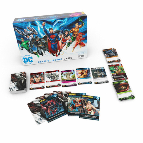 Cryptozoic Entertainment DC Comics - Deck-Building Game