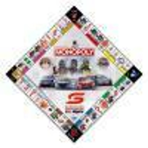 Winning Moves Monopoly - Supercars Edition