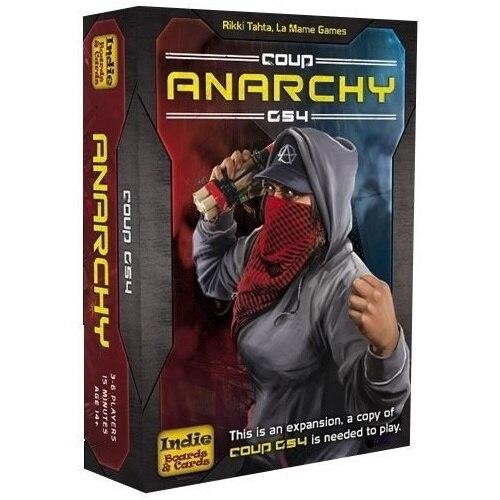 Indie Boards and Cards Coup Rebellion G54 Anarchy