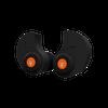 Custom Molded Percussive Shooting Filters Black