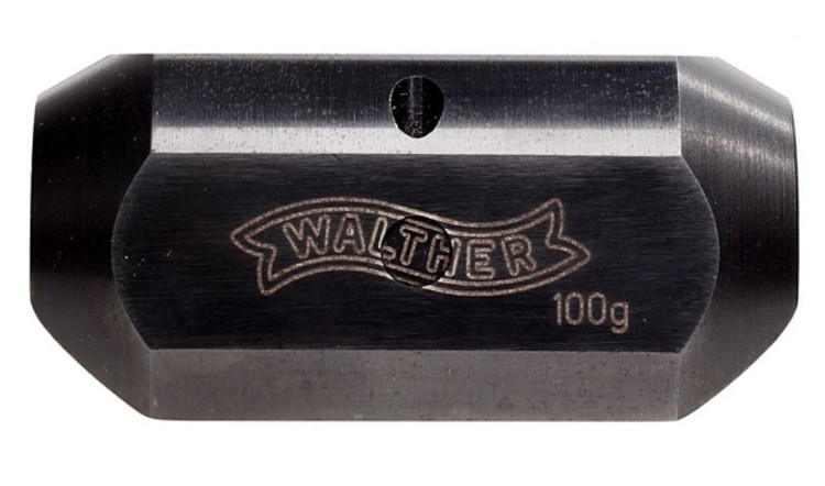 Barrel Jacket Weight, Steel, 100 g.