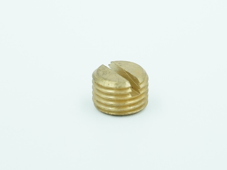 Slotted Set Screw, Brass
