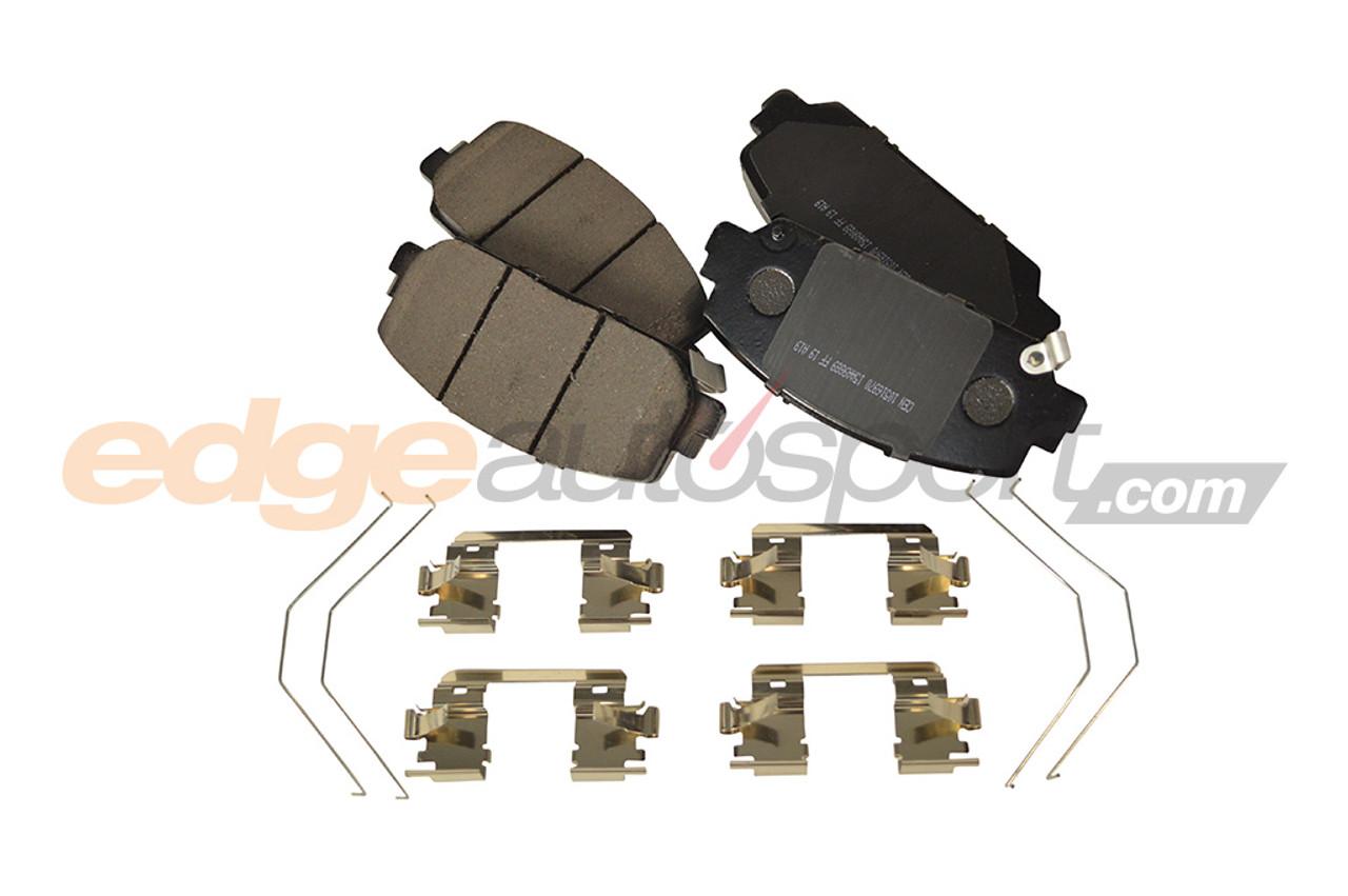 Front /& Rear Set for 94-01 Integra RS LS GS GSR Stoptech Street Brake Pads
