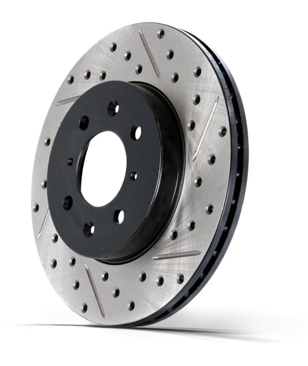 Stoptech 938.50013 Street Axle Pack Drilled /& Slotted Front