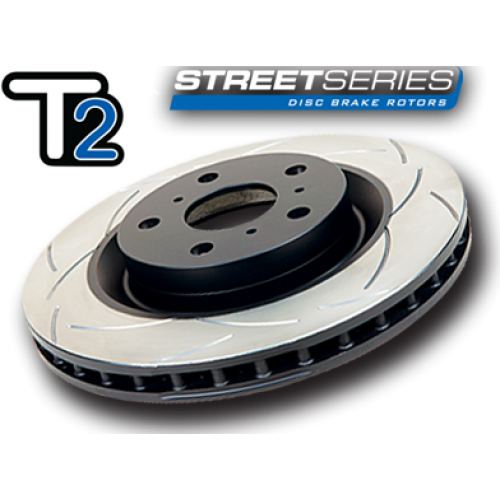 DBA Front Street Series Drilled and Slotted Disc Brake Rotor 2550X