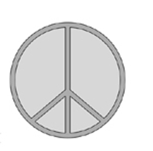 PEACE Bowl & Tray Template