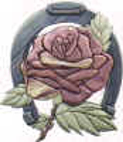 LUCKY ROSE INTARSIA PATTERN