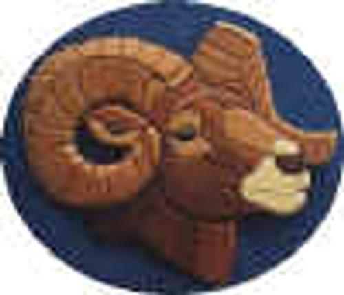 RAM'S HEAD INTARSIA PATTERN