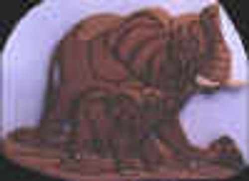ELEPHANTS INTARSIA PATTERN