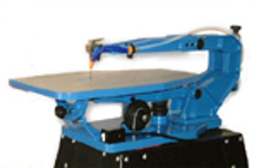 """21"""" SCROLL SAW (includes: stand, Quick Change, 2 dz blades + more)"""