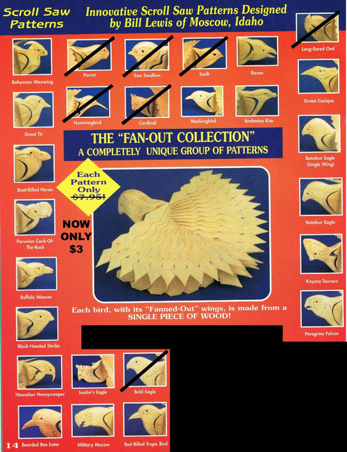 FAN OUT BIRD COLLECTION