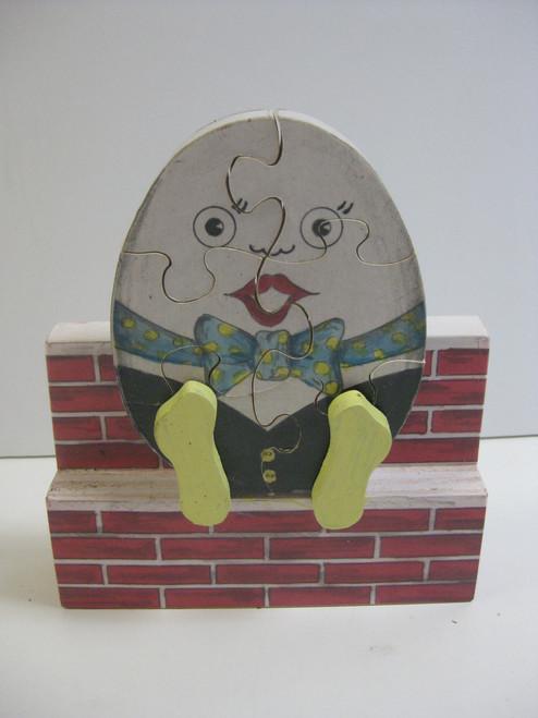 HUMPITY DUMPITY PUZZLE ON A BRICK WALL PATTERN