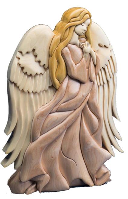 NATIVITY ANGEL Intarsia Pattern