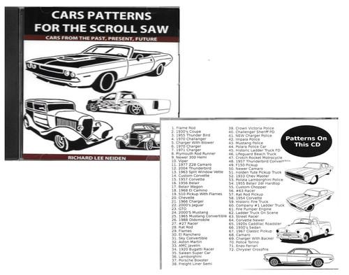 72 CAR PATTERNS DISC