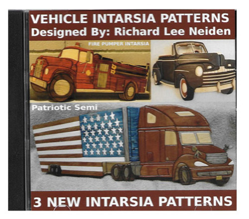 3 INTARSIA PATTERNS DISC