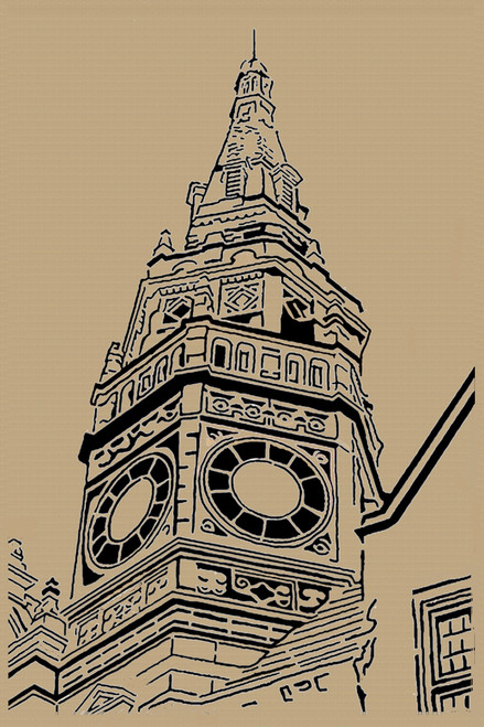 CLOCK TOWER PATTERN