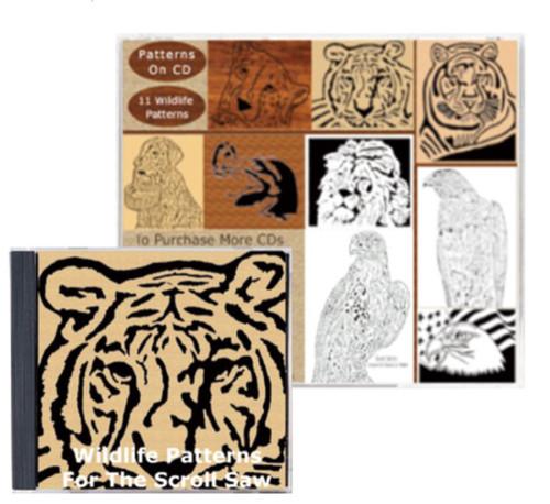 Wildlife Patterns Disc