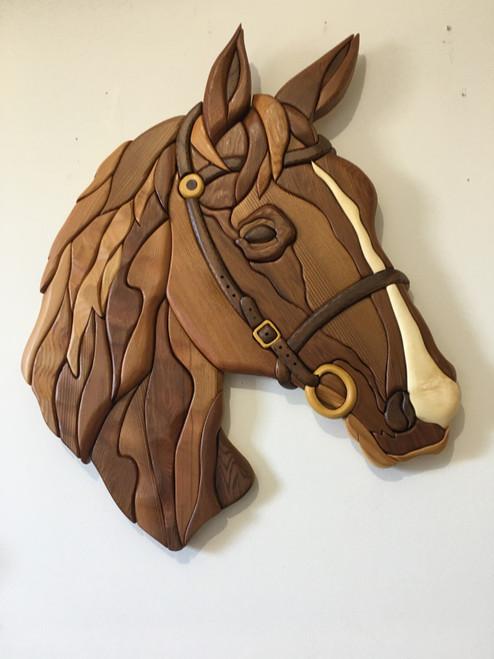 HORSE 2 INTARSIA PATTERN