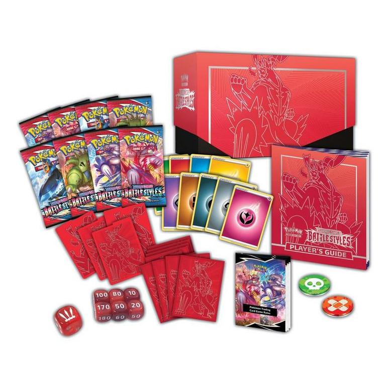 Pokemon TCG - Sword and Shield - Battle Styles Elite Trainer ( Red)